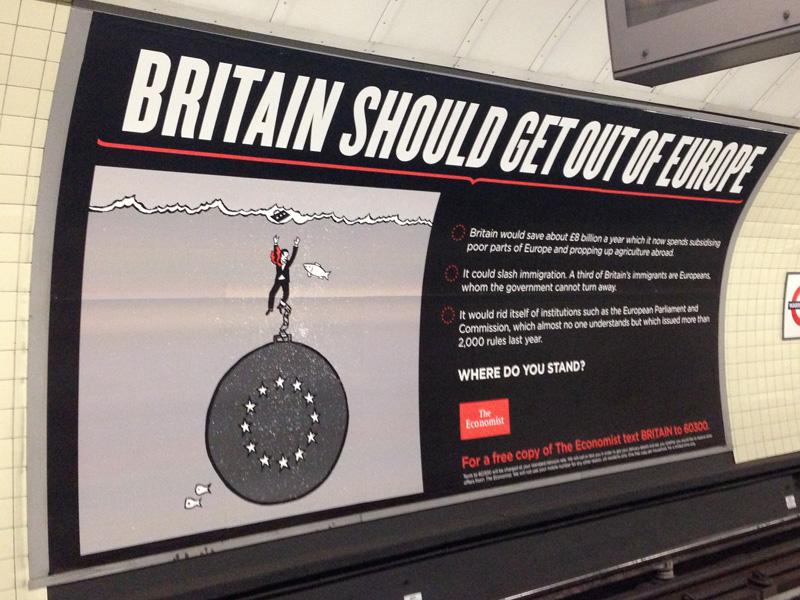 イギリスはEUに残るべきか(NO)