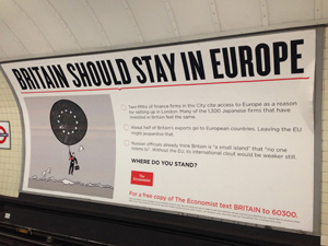 イギリスはEUに残るべきか(YES)