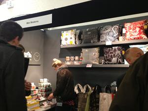 イースト・ロンドン・デザイン・ショー2013テキスタイルのお店
