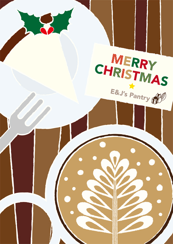 E&J's Pantry Xmas card