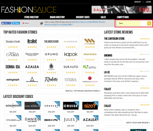 Fashion Sauce — The Ultimate Source for Online Fashion