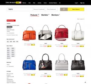 Shop   Follow TOD S Sales   Coolonsale