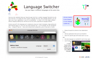 TJ HD Software Language Switcher