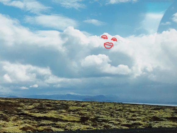 アイスランドの空