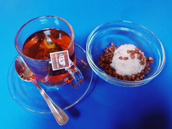 シリアルキラーカフェのしリアルミルクアイスクリーム